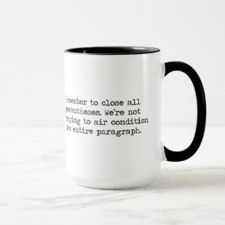 Close all Parentheses Mug