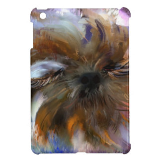 close both eyes PAINTING jpg iPad Mini Covers