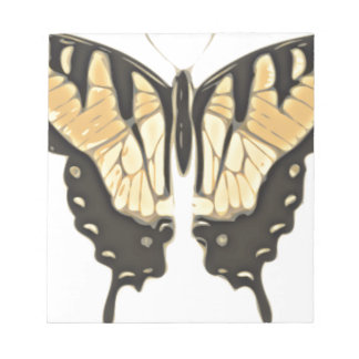 close Butterfly Notepad