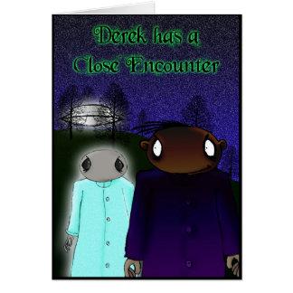 Close Encounter Card