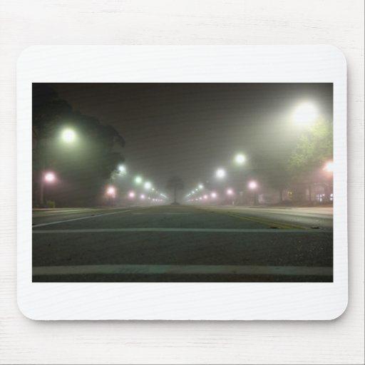 Close Encounter of the Street Light Kind Mouse Pad