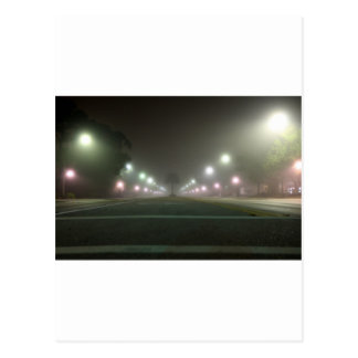 Close Encounter of the Street Light Kind Postcard