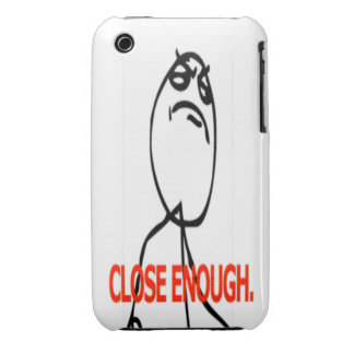 Close enough comic face iPhone 3 covers
