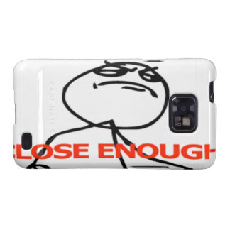 Close enough comic face galaxy SII cover