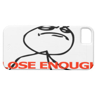 Close enough comic face iPhone 5 covers