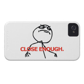 Close Enough iPhone 4 Cover