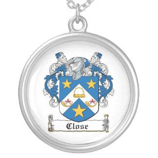 Close Family Crest Pendants
