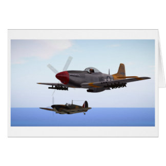Close formation Greeting Card