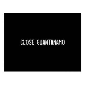 close guantanamo postcard