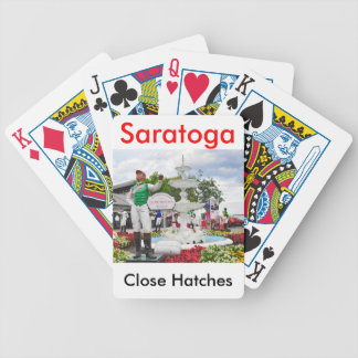 """Close Hatches"" Champion Bicycle Playing Cards"