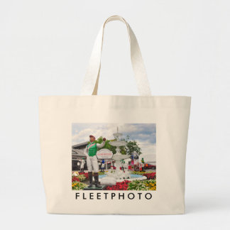 """""""Close Hatches"""" Champion Large Tote Bag"""