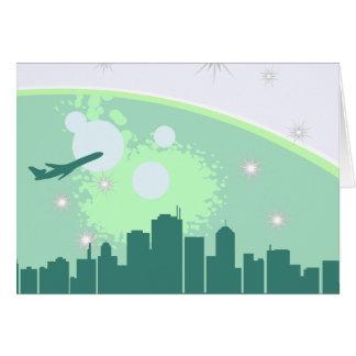 Close Knit City Card