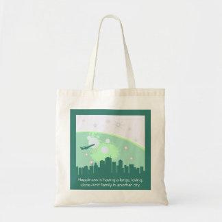 Close Knit City Tote Bag