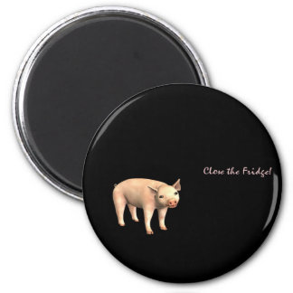 close the fridge 2 inch round magnet