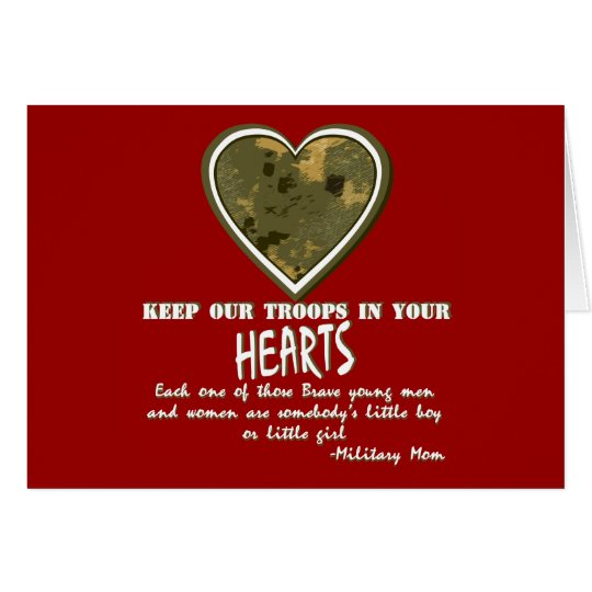 Close to your hearts card