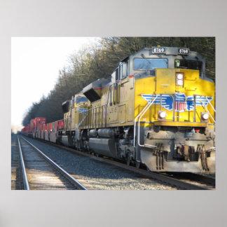 Close Train Poster