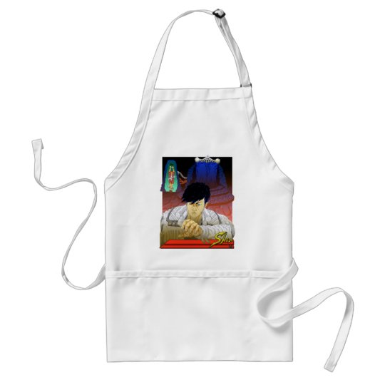 Close Up And Personal Adult Apron