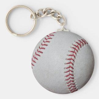 Close-up Baseball Surface Keychain