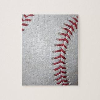 Close-up Baseball Surface Puzzle