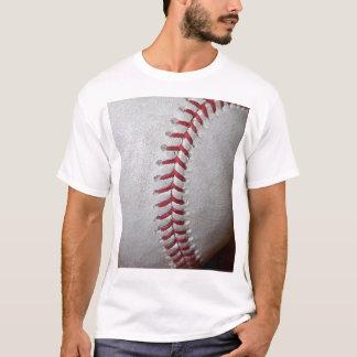 Close-up Baseball Surface T-Shirt