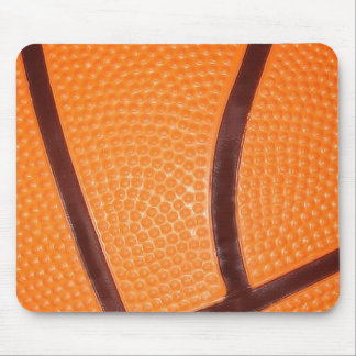 Close up Basketball Mouse Pad