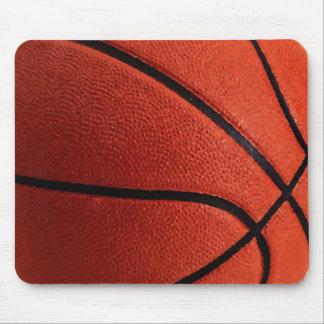 Close-up Basketball Mouse Pad