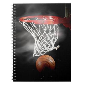 Close-up Basketball Notebook