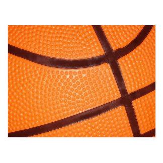 Close up Basketball Postcard