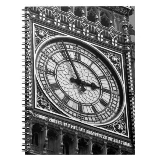 Close up Big Ben Clock Tower Travel Europe Notebook