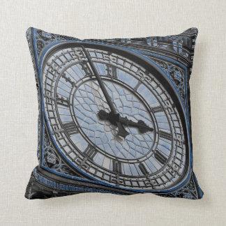 Close up Big Ben Clock Tower Travel Europe Throw Pillow