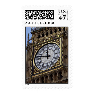 Close up Big Ben London Travel Postage