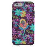 Close-up Colorful Glass Beads Look Retro Flowers iPhone 6 Case