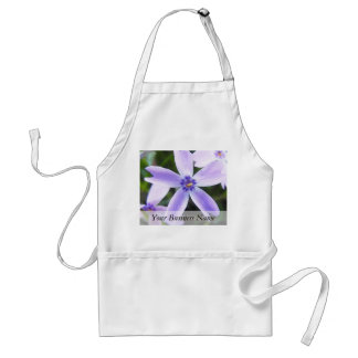 Close-Up Creeping Phlox Flower Adult Apron