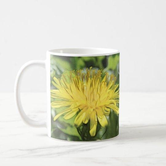 Close-Up Dandelion Flower Coffee Mug