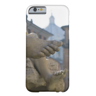 close-up detail of scuptured feet on the Fontana Barely There iPhone 6 Case
