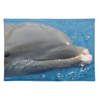 Close-up Dolphin Face Placemat
