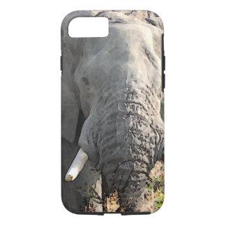 Close-up Elephant Artwork iPhone 8/7 Case