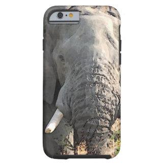 Close-up Elephant Artwork Tough iPhone 6 Case