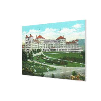 Close-up Exterior View of Mt Washington Hotel Canvas Prints