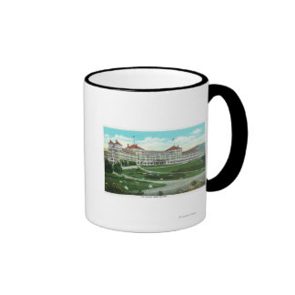 Close-up Exterior View of Mt. Washington Hotel Coffee Mugs