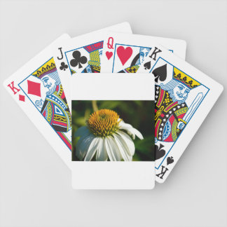 Close-up Flower Bicycle Playing Cards