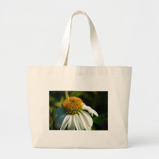 Close-up Flower Large Tote Bag