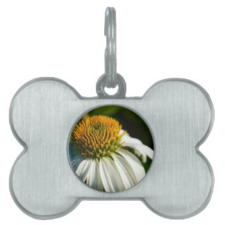 Close-up Flower Pet Name Tags