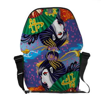 Close-Up Geisha Messenger Bag