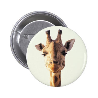Close-Up Giraffe 2 Inch Round Button