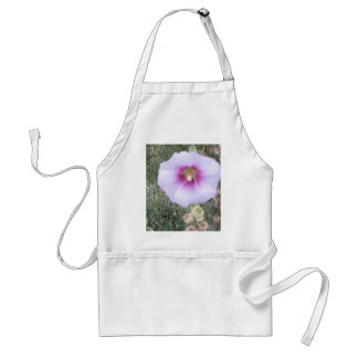 Close Up Hollyhock Adult Apron