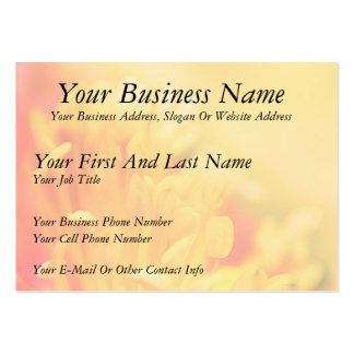 Close Up - Iceland Poppy Large Business Cards (Pack Of 100)