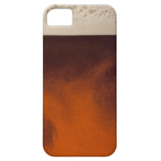 Close up image of amber colored beer with frothy iPhone SE/5/5s case