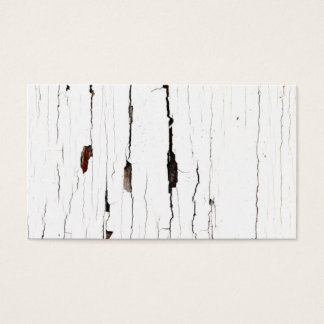 Close-up Image of Cracked Old Paint Business Card