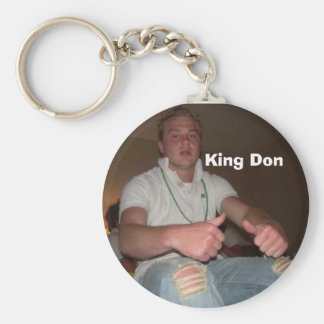 close up, King Don Keychain